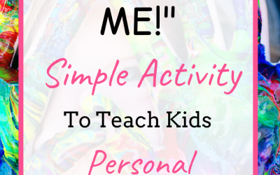 Simple Kitchen Activity to Teach Your Kids To Take Personal Responsibility